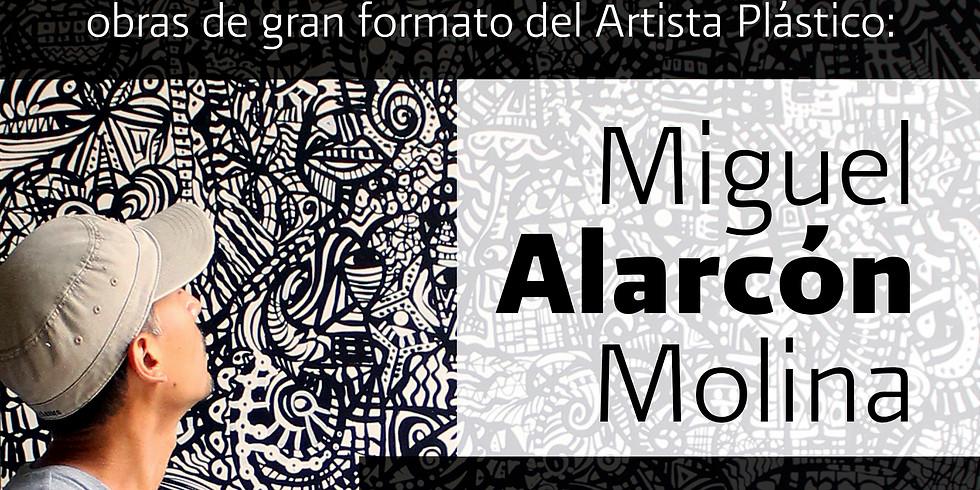 Miguel Alarcón en Retaurant-Galería Lamartine.