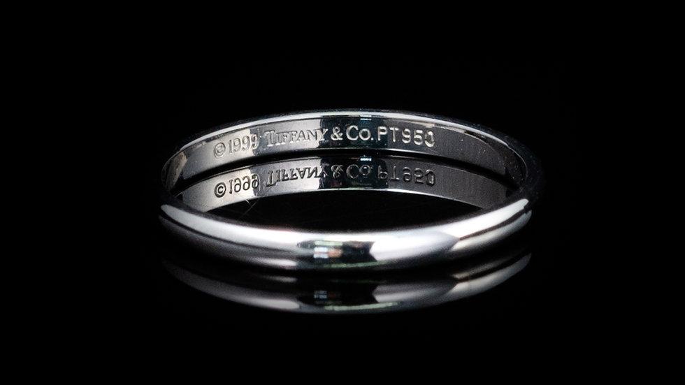 999 Tiffany & Co. Platinum PT950 Wedding Band Ring