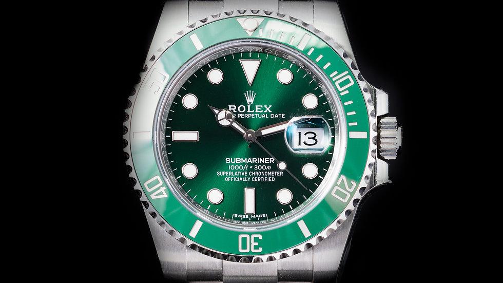 Rolex Submariner Date Hulk 2018