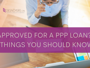 Approved for a PPP Loan? 5 Things You Should Know