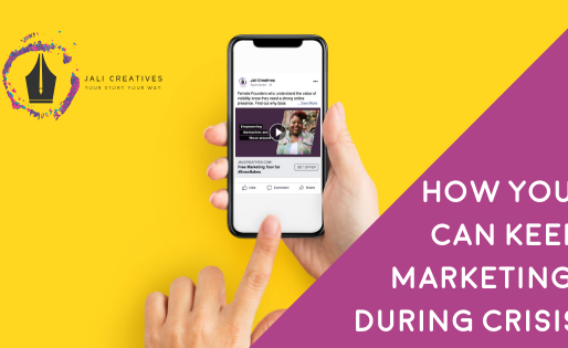 How to Keep Marketing During Crisis