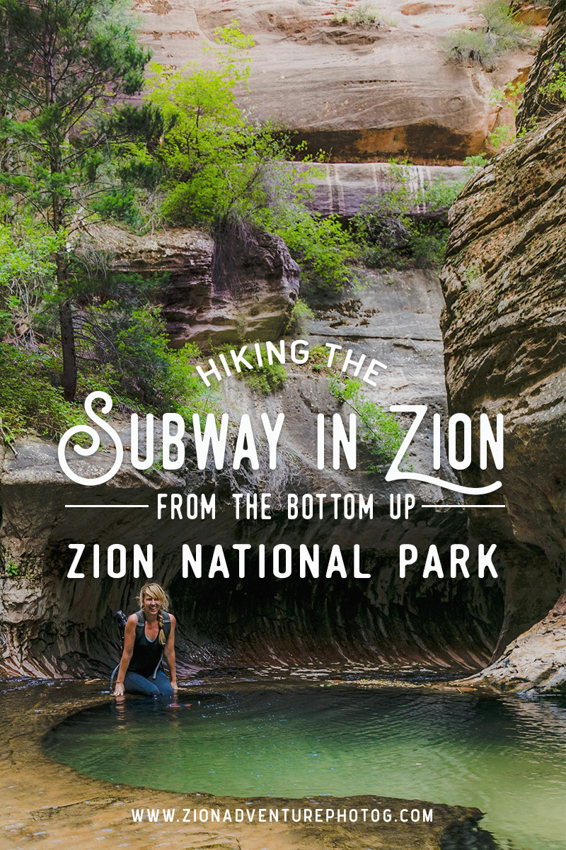 Hiking The Subway in Zion National Park