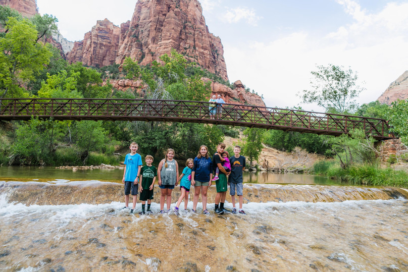 Family Reunion Fun in Zion