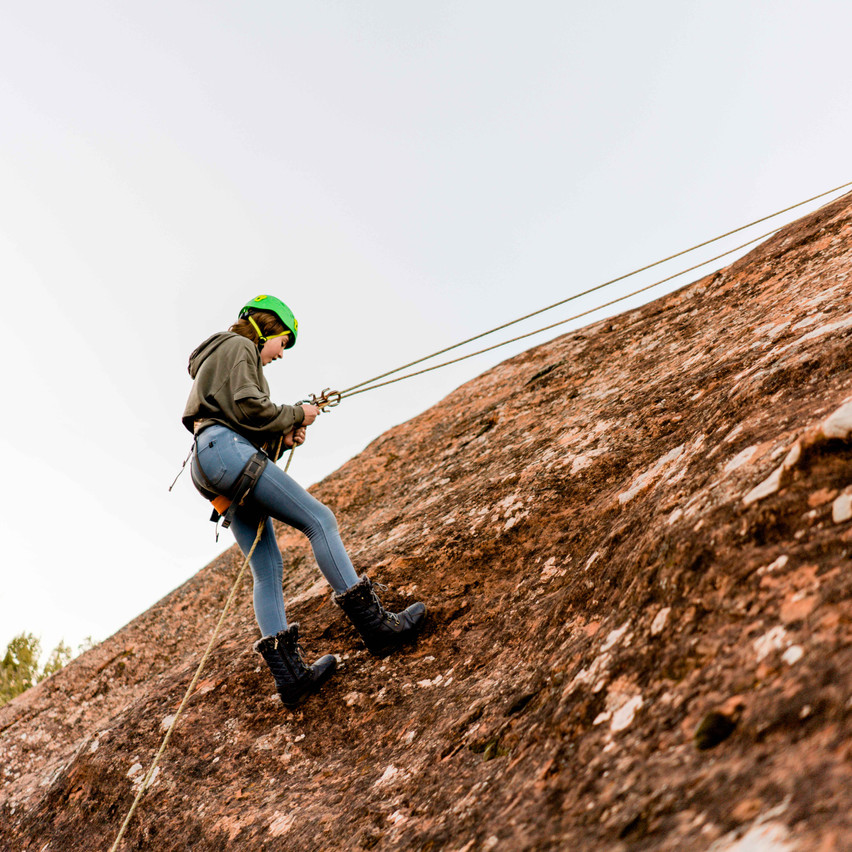 Rappelling with kids-30
