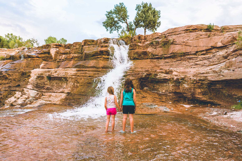 A Family Camping Adventure at Toquerville Falls - Toquerville, UT