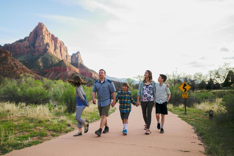 A Zion Spring Break Adventure - Itinerary