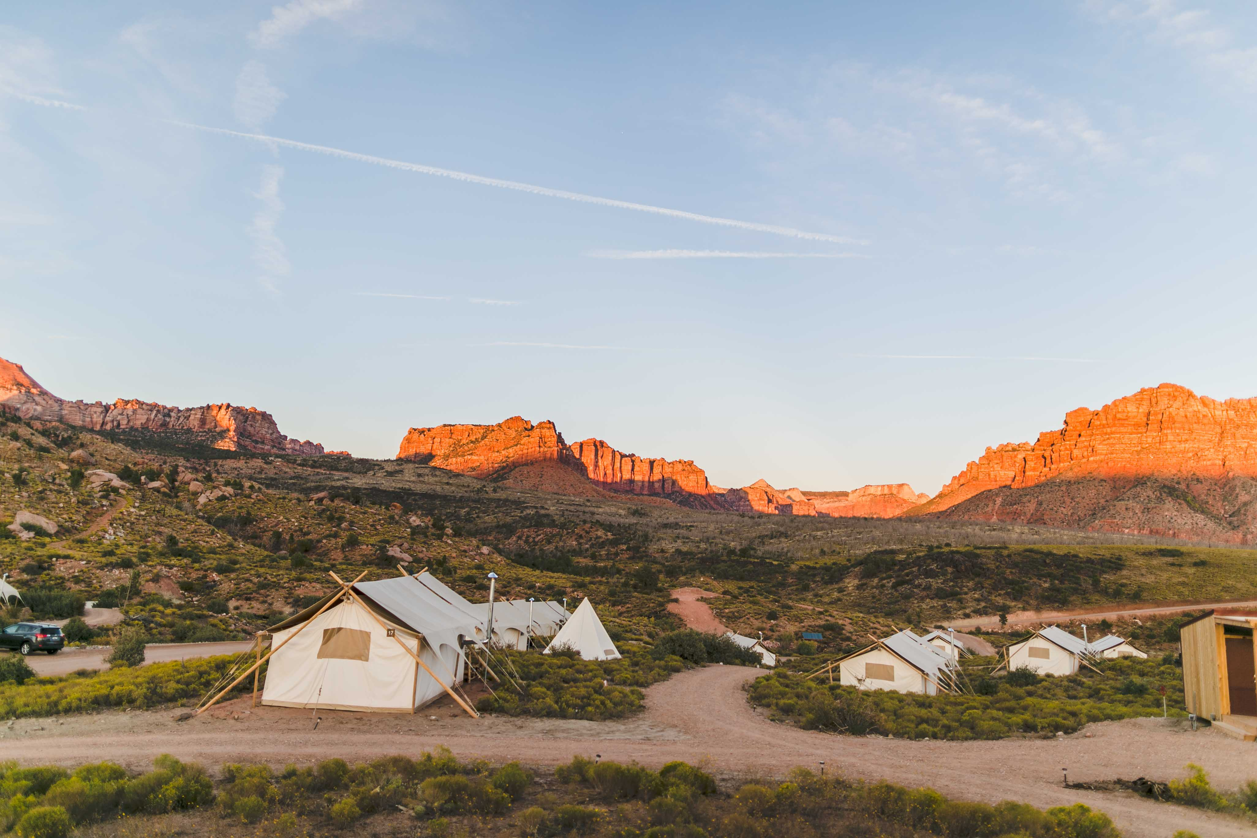 Zion Under Canvas - Glamping with Kids