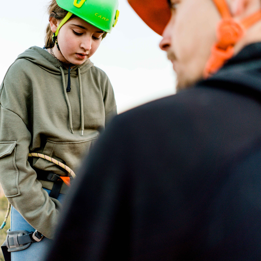 Rappelling with kids-56
