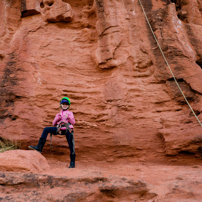 Rappelling with kids-50