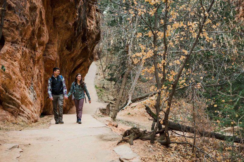 The best time to visit Zion National Park