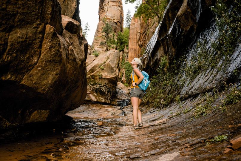Hiking Water Canyon - Canaan Mountain, Southern Utah