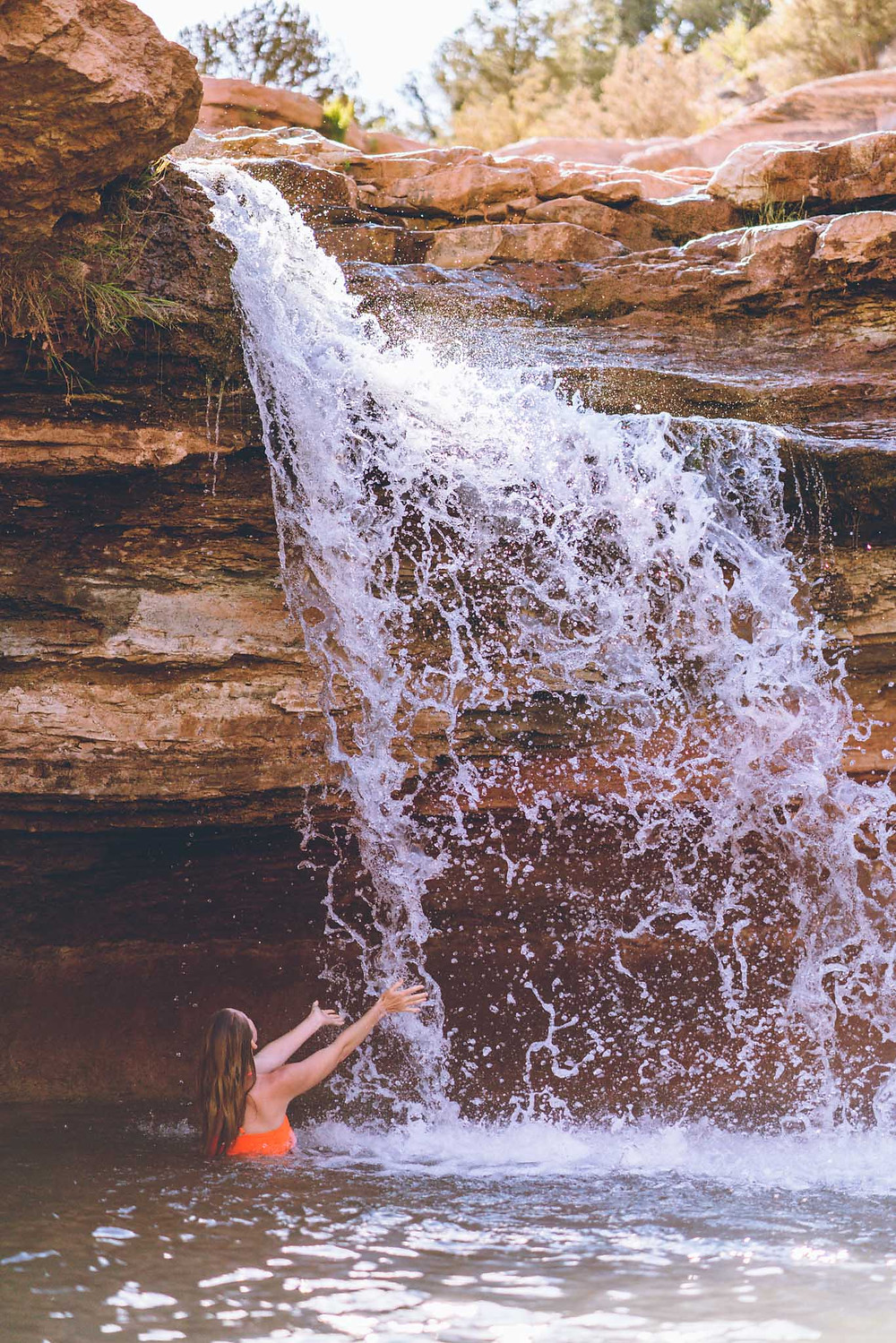 Toquerville Falls - Southern Utah Adventures