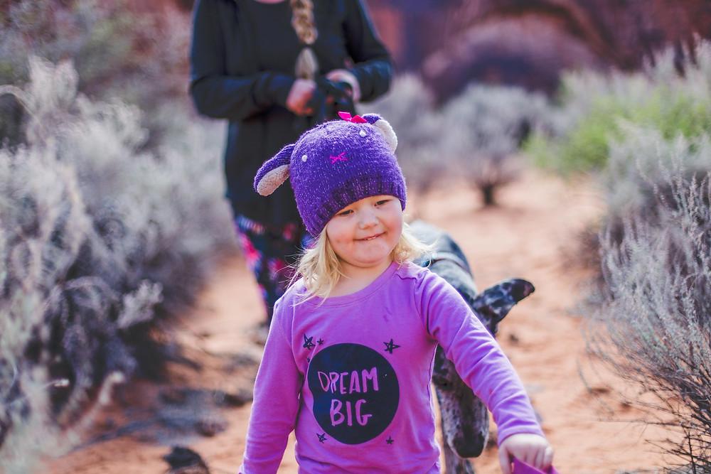Snow Canyon Family Climbing Adventure
