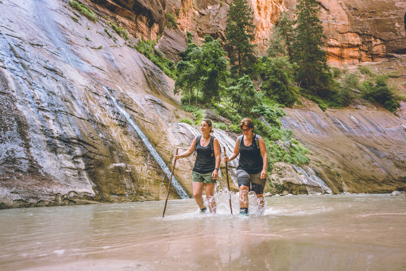 Hiking The Narrows - Zion National Park