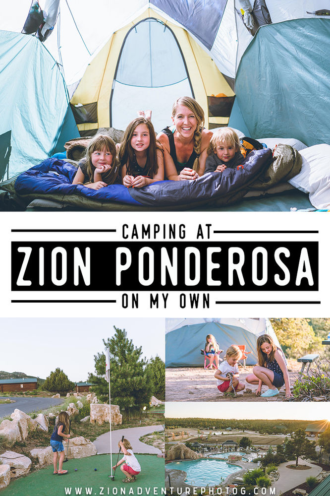 Camping at Zion Ponderosa Ranch Resort - On my own