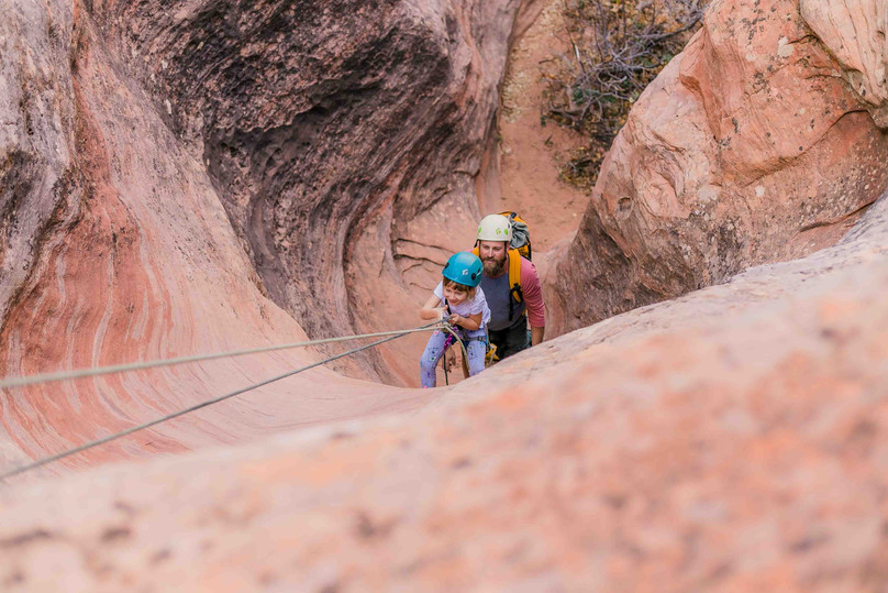 Family Canyoneering with Red Desert Adventures - Zion National Park