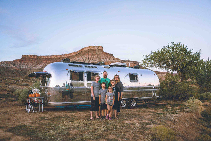 Boondocking in Southern Utah with Tiny Shiny Home