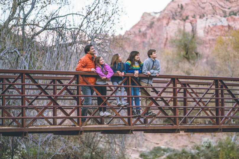 Spring or Fall Zion Itinerary with Older Kids
