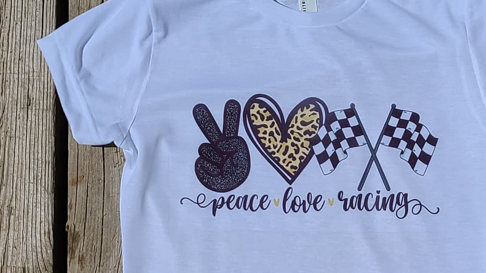 Peace Love Racing T-Shirt