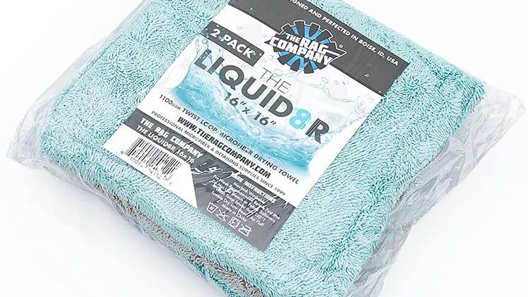 The Liquid8r Drying Towel 16x16 2pk