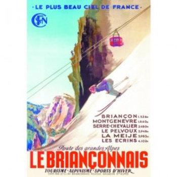 Affiche Le Briançonnais 50x70cm
