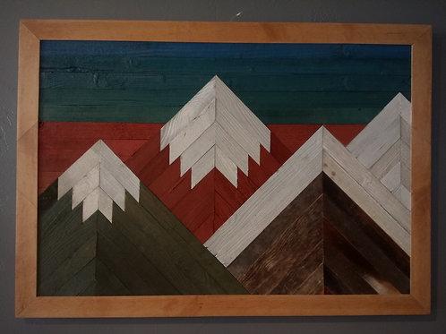 Tableau en bois