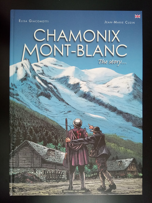 Bande Dessinée Chamonix - The story