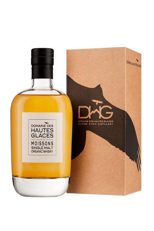 Whisky single malt 44.8% 70cl - Domaine Hautes Glaces