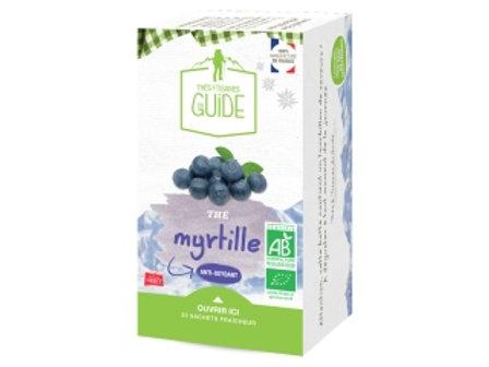 Thé myrtille bio 38g - Maison Orset