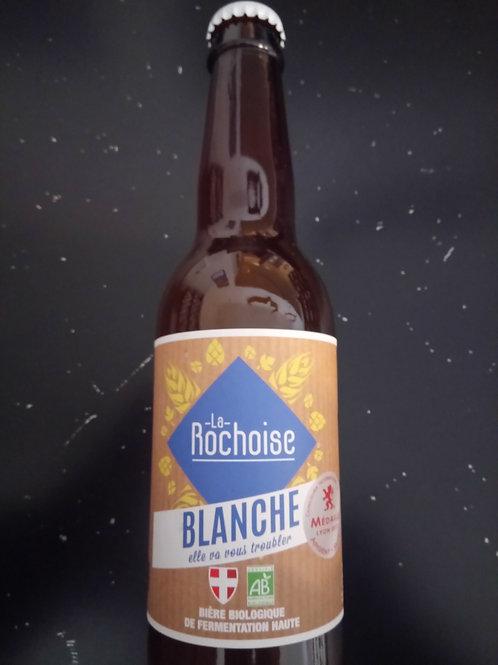 Bière Blanche bio 4.5% 33cl - La Rochoise