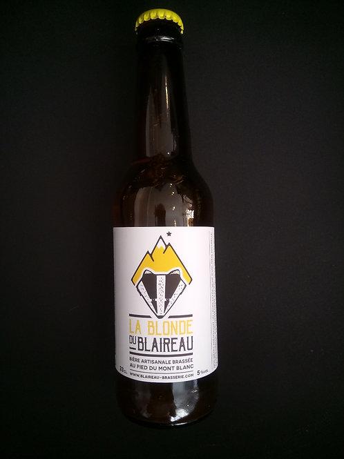 Bière Blonde 33cl - Le Blaireau
