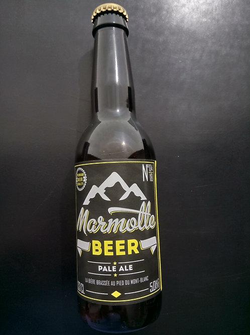 Bière PALE ALE 33cl - Marmotte Beer