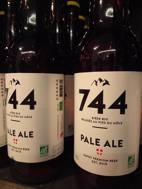 Bière pale ale 33cl -Brasserie 744