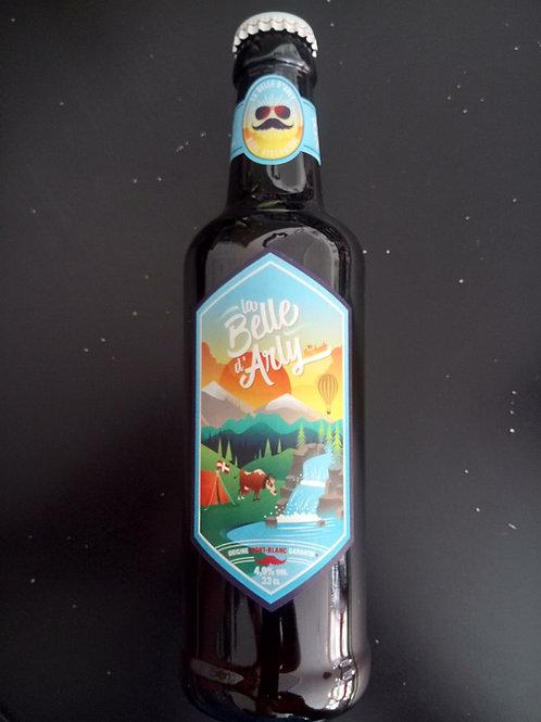 Bière La Belle d'Arly bio 33cl - Bacchante