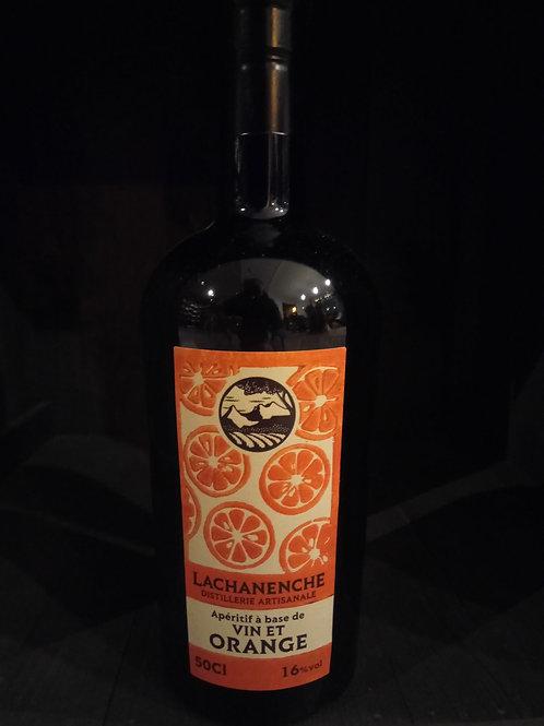 Vin et orange 16% 50cl - Lachanenche
