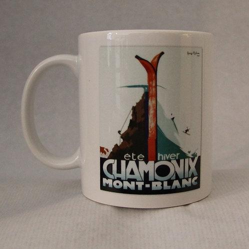 Mug Chamonix été hiver