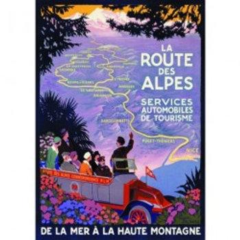 Affiche Route des Alpes 50x70cm