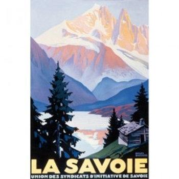 Affiche La Savoie 50x70cm