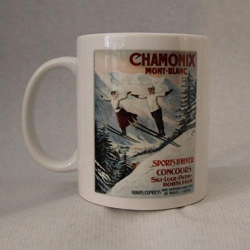 Mug Chamonix les deux sauteurs