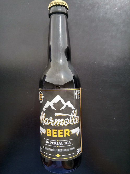 Bière Imperial IPA 33cl - Marmotte Beer