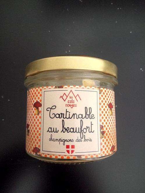 Tartinable beaufort champignon 90g - Les Cols Rouges