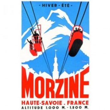 Affiche Morzine 50x70cm