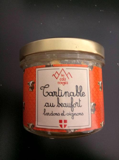 Tartinable beaufort lardons 90g - Les Cols Rouges