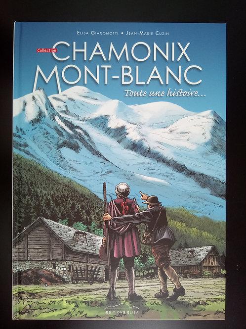 Bande Dessinée Chamonix - Toute une histoire