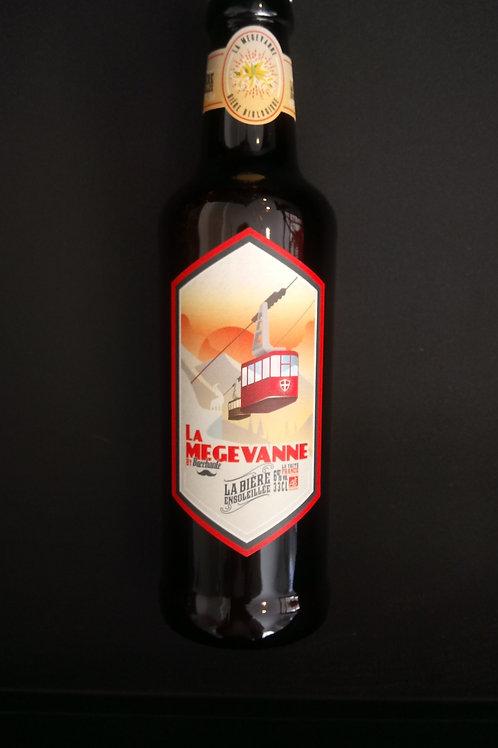 Bière La Megevanne bio 33cl - Bacchante