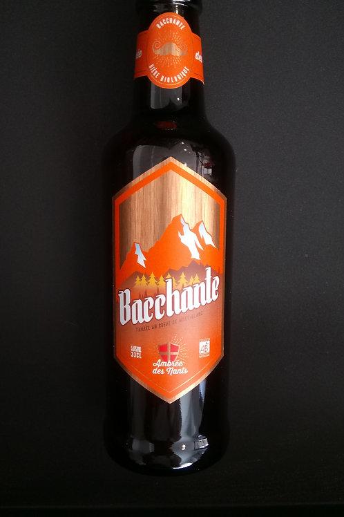Bière ambrée des nants bio 33cl - Bacchante