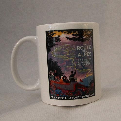 Mug Route de Alpes