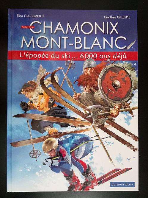 Bande Dessinée Chamonix - L'épopée du ski