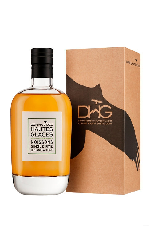 Whisky single rye 44.8% 70cl - Domaine Hautes Glaces
