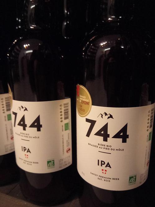 Bière IPA #74 33cl -Brasserie 744